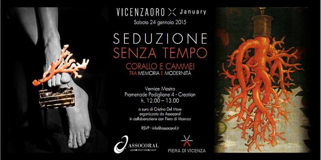 IL SEDUCENTE CORALLO INIZIA IL TOUR MONDIALE DA VICENZAORO JANUARY 2015