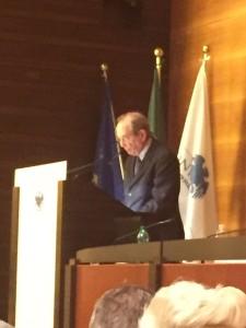 Pier Carlo Padoan Ministro dell'economia e delle finanze italiano