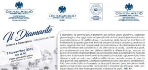 UDINE - IL DIAMANTE scienza e commercio @ Confcommercio Udine | Udine | Friuli-Venezia Giulia | Italia