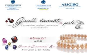 BARI - GIOIELLI, DIAMANTI E PERLE @ Camera di Commercio di Bari I.A.A. - Sala Blu | Bari | Puglia | Italia