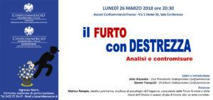 TREVISO | Furto con destrezza.. analisi e contromisure @ Ascom Confcommercio Treviso | Treviso | Veneto | Italia