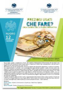 NUORO | PREZIOSI USATI CHE FARE? @ Confcommercio Nuoro Ogliastra | Nuoro | Sardegna | Italia