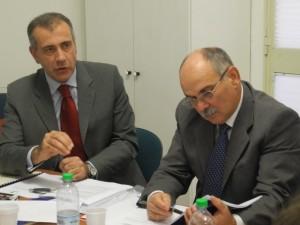 Steven Tranquilli con Mario Bartucca, Vice Presidente Federpreziosi