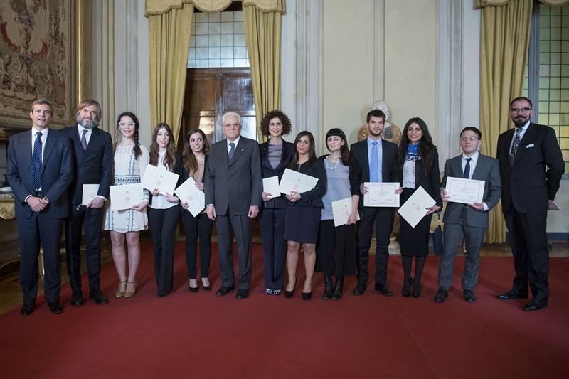 Premio Comitato Leonardo 2015: il gruppo dei premiati