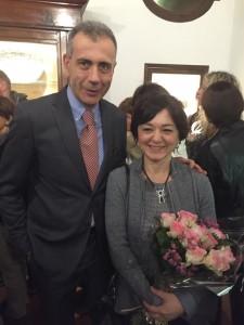 Steven Tranquilli con Elena Lo Presti