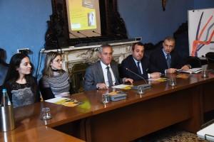 Da sinistra: Valentina Sommavigo, Ilaria Setti, Giancarlo Tonelli, Pier Luigi Sforza, Steven Tranquilli