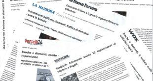 DIAMANTI DA INVESTIMENTO: UN FENOMENO TROPPO AMPIO  URGONO INTERVENTI RISOLUTIVI