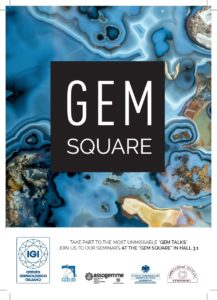 GEM TALK VICENZA ORO JANUARY 2019 GEM SQUARE HALL 3.1