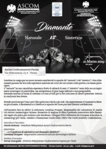 PARMA | DIAMANTE Naturale vs Sintetico @ Ascom Confcommercio Parma | Parma | Emilia-Romagna | Italia