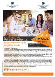 PERUGIA | IL GIOIELLIERE: PASSIONE, COMPETENZA E... @ Confcommercio Imprese per l'Italia Umbria | Perugia | Umbria | Italia