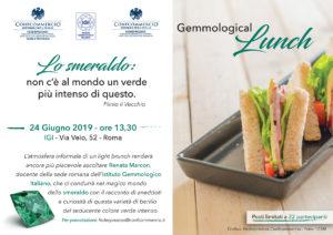 ROMA | GEMMOLOGICAL LUNCH Lo smeraldo: non c'è al mondo un verde più intenso di questo. @ Istituto Gemmologico Italiano | Roma | Lazio | Italia