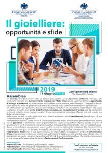 TRIESTE | IL GIOIELLIERE: OPPORTUNITÀ E SFIDE @ Confcommercio Trieste | Trieste | Friuli-Venezia Giulia | Italia